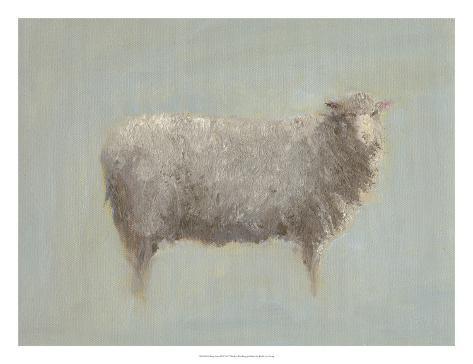 Sheep Strut III Art Print
