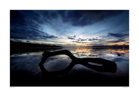 Beach Reflection Art Print