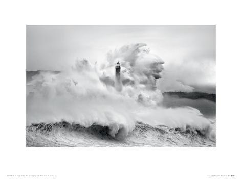 Cantabria Lighthouse I Giclee Print