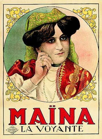 Marina La Voyante Art Print
