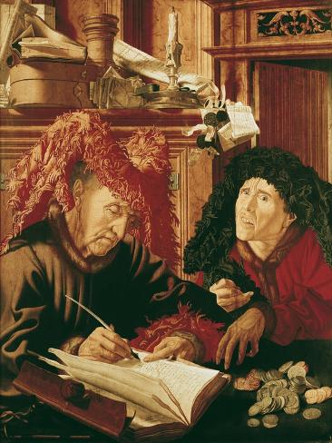 Two Tax Gatherers, c.1540 Giclee Print