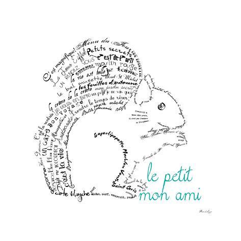le petit mon ami squirrel premium giclee print by marion de lauzun Le CA De N R le petit mon ami squirrel