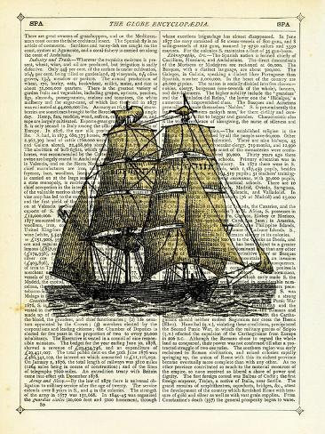 Set Sail Stretched Canvas Print