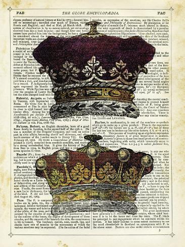 Twin Crowns Stampa su tela
