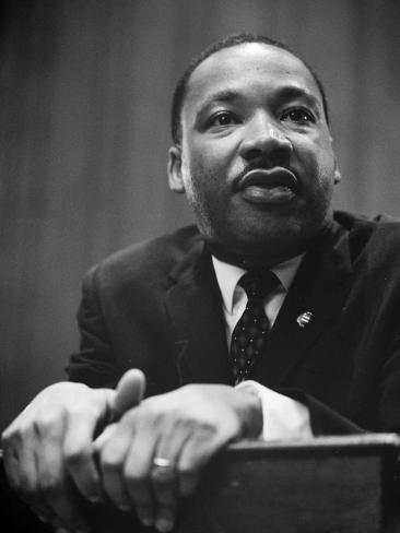 Martin Luther King Press Conference, 1964 Photo