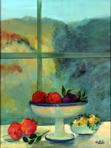 Interior with Window and Bowl Giclée-vedos