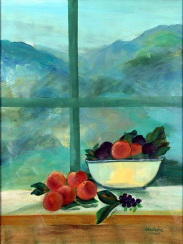 Interior with Window and Fruits Giclée-vedos