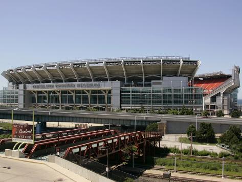 Cleveland Browns--Cleveland Browns Stadium: Cleveland, OHIO - Cleveland Browns Stadium Stretched Canvas Print