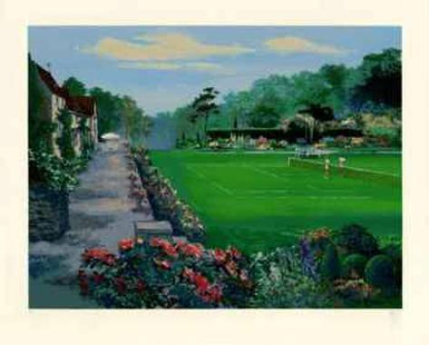 Lawn Tennis Collectable Print