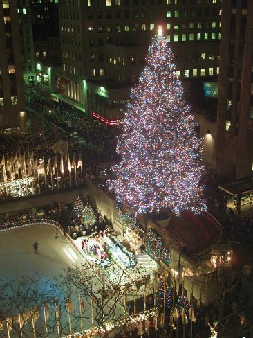Rockefeller Tree Lámina fotográfica