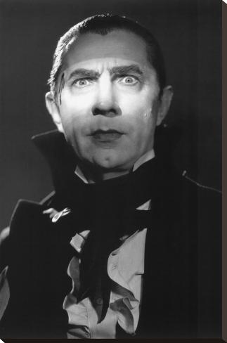Mark of the Vampire - Dracula (Bela Lugosi) Impressão em tela esticada
