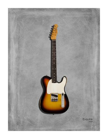 Fender Equire 59 Giclee Print