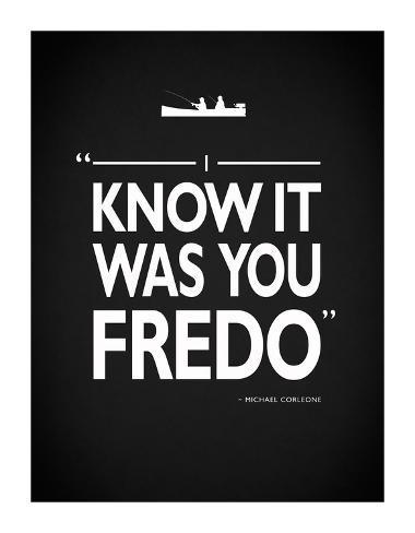 Godfather It Was You Fredo Giclee Print
