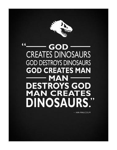 Jurassic Park - Creates Giclee Print