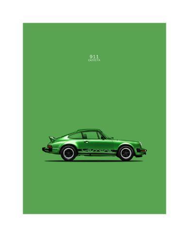 """Porsche Speedster 42/"""" x 24/"""" LARGE WALL POSTER PRINT NEW."""