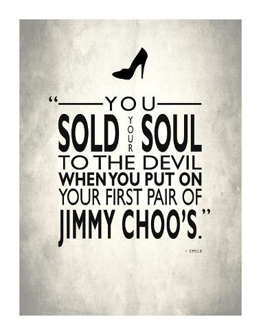 Sold Your Soul To The Devil Giclee Print