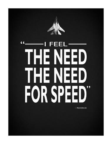 Top Gun The Need For Speed Giclee Print