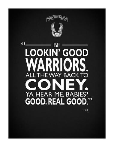 Warriors Lookin Good Giclee Print