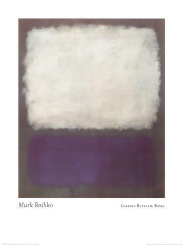 Blue and Grey, c.1962 Art Print