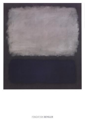 Blue & Gray, 1961 Art Print