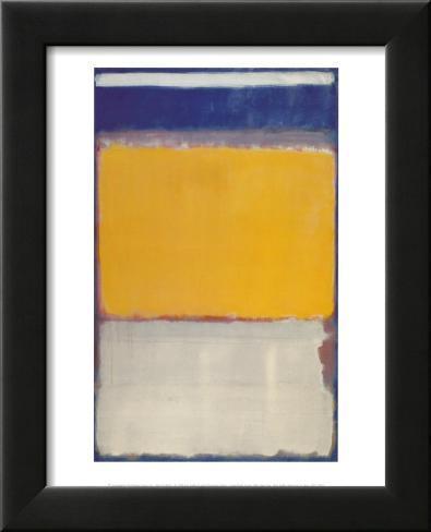 Number 10, 1950 Lamina Framed Art Print