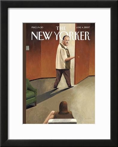 The New Yorker Cover - June 4, 2007 Framed Giclee Print