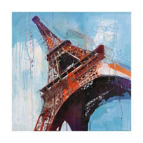 Lost in Paris Art Print