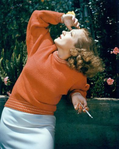 Marlene Dietrich Stretched Canvas Print