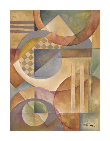Circular Rhythms II Art Print