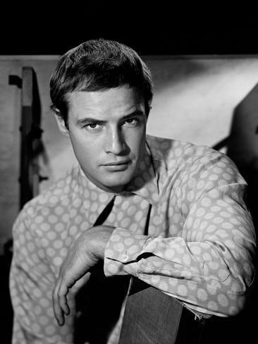 Marlon Brando, 1953 Photographic Print