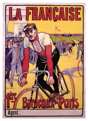 La Francaise Giclee Print