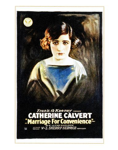 Marriage For Convenience - 1919 Giclee Print