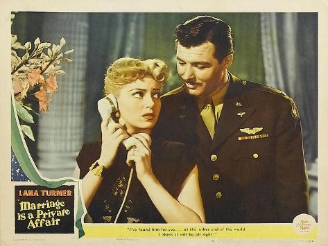 Marriage is a Private Affair, 1944 Premium Giclee Print