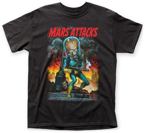 Mars Attacks- Martian Commando T-shirt
