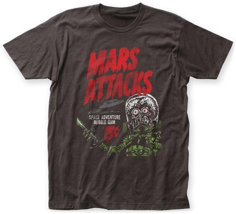 Mars attacks space adventure bubble gum t shirts su for Attack of the 50 foot woman t shirt