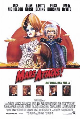 Mars Attacks Masterprint