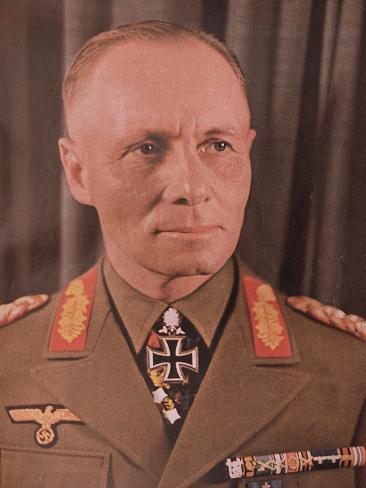 Marshal Erwin Rommel (1894-1944) from