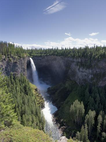 Helmcken Falls, Wells Grey Provincial Park, British Columbia, Canada, North America Photographic Print