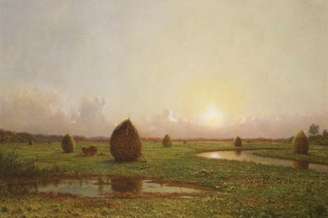 Haystacks, C.1876-88 Lámina giclée