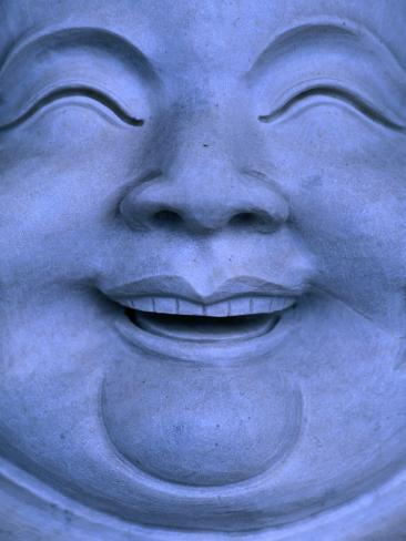 Detail of Buddha statue, Hualien, Taiwan Photographic Print