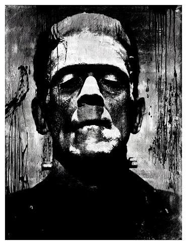 Frankenstein II Giclee Print