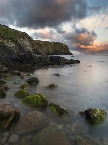 Fair Isle. in the Far North of Scotland. the Coast Near Finni Quoy ...