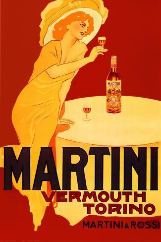 Martini and Rossi, Torino Poster