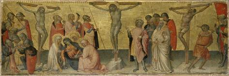 The Crucifixion of Christ, C.1390 Giclee Print