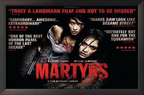 Martyrs Impressão artística emoldurada