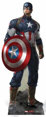 Marvel - Captain America Age of Ultron Cardboard Cutout Figura de cartón