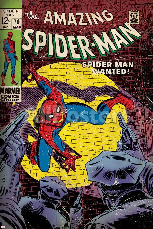 Marvel Comics Retro: The Amazing Spider-Man Comic Book Cover No.70 ...