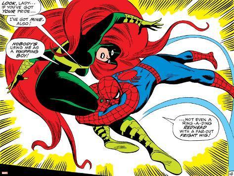 Marvel comics retro the amazing spider man comic panel - Marvel retro wallpaper ...