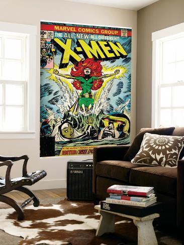 Comic Book Wall Murals marvel comics retro: the x-men comic book cover no.101, phoenix