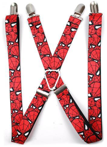 Marvel Comics - Spiderman Stacked Suspenders Novelty